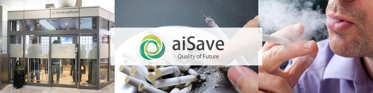 aiSave 未来の品質 喫煙室トイレ